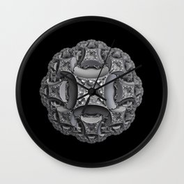 Shades of Gray Wall Clock