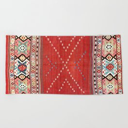 Fethiye Southwest Anatolian Camel Cover Print Beach Towel