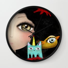 Find something new everyday Wall Clock