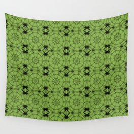 Greenery Pinwheels Wall Tapestry