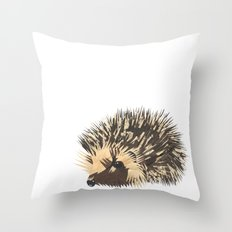 Little Hedgehog Throw Pillow