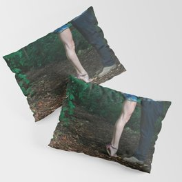 Legs of a Couple Kissing Pillow Sham