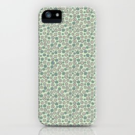 Ditsy Daisies Allover Style Seamless Pattern iPhone Case