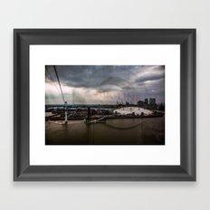 Air Line Framed Art Print