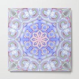 Star Flower of Symmetry 717 Metal Print