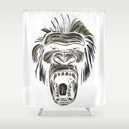GORILLA KING KONG Shower Curtain