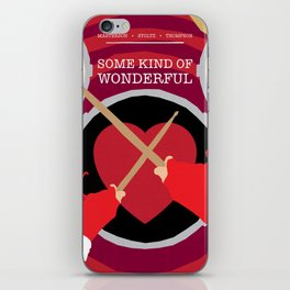 80s TEEN MOVIES :: SOME KIND OF WONDERFUL iPhone Skin