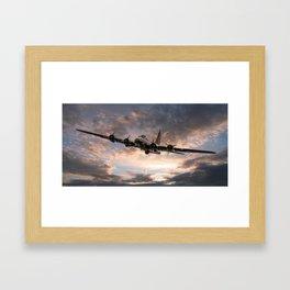 B17 Flying Fortress Framed Art Print