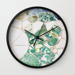 Parc Guell Wall Clock