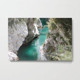 Cold river on a hot summer day Metal Print