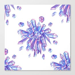 Zero Gravity Crystals II Canvas Print