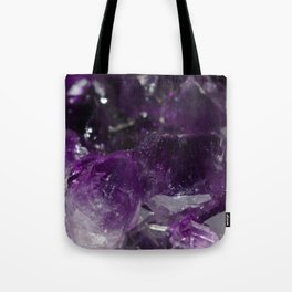 Amethyst jumble Tote Bag