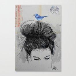 SUDDENLY Canvas Print