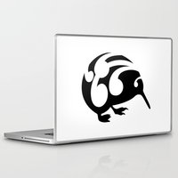 kiwi Laptop & iPad Skins featuring Kiwi by mailboxdisco
