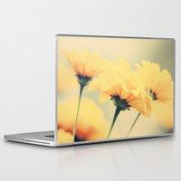 leah flores Laptop & iPad Skins featuring Flores by Irène Sneddon