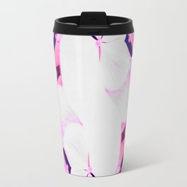 Hydrangeas - Pink & Blue Overlay Travel Mug