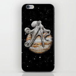 Celestial Cephalopod iPhone Skin