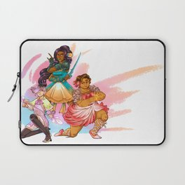 Magical Girl Floral Fighter Squad Laptop Sleeve
