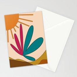 sunshine somewhere Stationery Cards