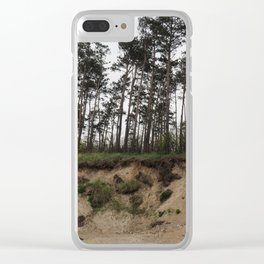 Winter aftermath Clear iPhone Case