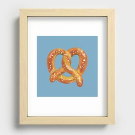 Pretzel Love Recessed Framed Print