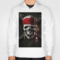 pirate Hoodies featuring PIRATE by Acus
