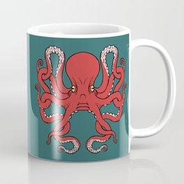 Octopus Knot in Deep Sea Coffee Mug