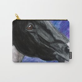 Watercolor Paint Horse Carry-All Pouch