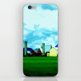 All At Once We Had It In For The Sky iPhone Skin