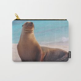 A Seal Sunbathe Carry-All Pouch