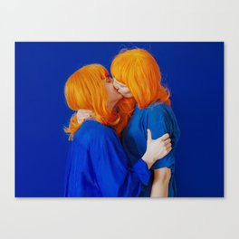 kiss (on being single) - wide Canvas Print