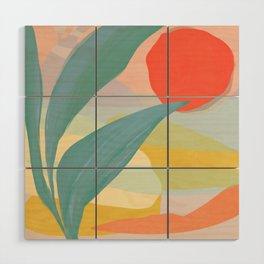 Shapes and Layers no.33 Wood Wall Art