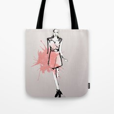 Coral Fashion Tote Bag