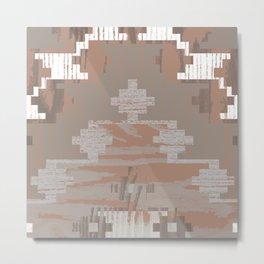 Wood print V Metal Print