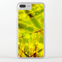 Microbes Clear iPhone Case