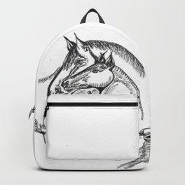 Horse Heads Backpack