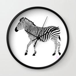 Zebra SW 1A Wall Clock