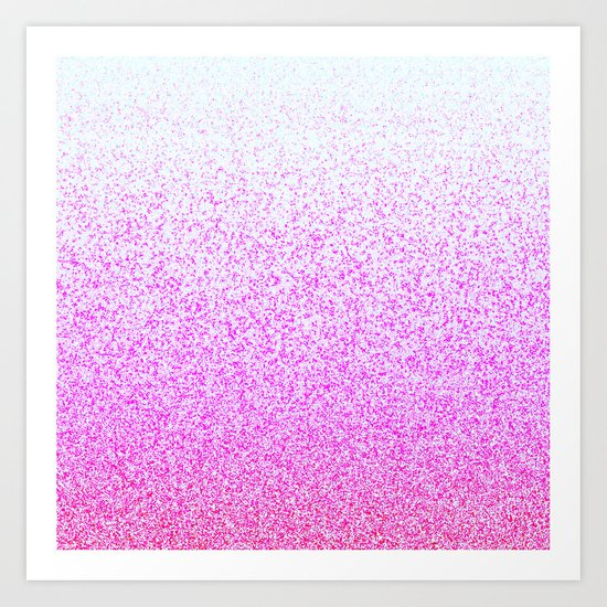 I Dream in Pink Art Print