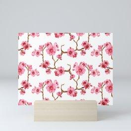 Japanese sakura Mini Art Print