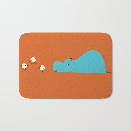 Hungry Hippo Bath Mat