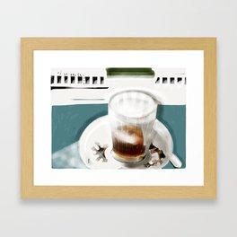 mi cortado Framed Art Print