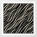 Tiger abstract striped pattern . by fuzzyfox85