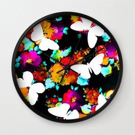 Thinking Spring Wall Clock