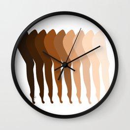 Earthlings Legs Wall Clock