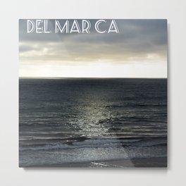 Del Mar Dusk Metal Print