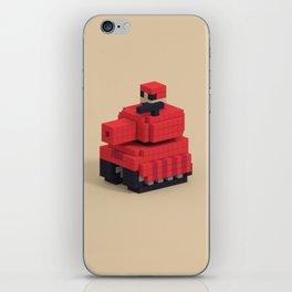 Voxel Advance Wars Tank iPhone Skin