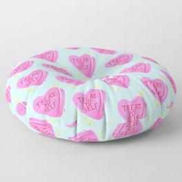 Treat Yo' Self Floor Pillow