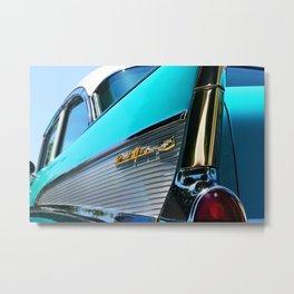 1957 Bel Air Sport Sedan Classic Car Metal Print