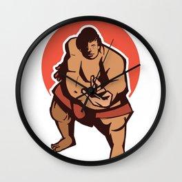 Sumo sumo wrestler Wall Clock