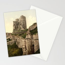 Vintage Photo-Print of Scarborough Castle (1900) Stationery Cards